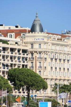 carlton hotel in cannes picture of cannes french. Black Bedroom Furniture Sets. Home Design Ideas