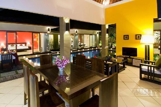 Bali Swiss Villa: Dining room