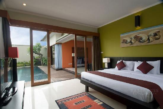 Bali Swiss Villa: Deluxe Villa Room