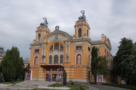 ‪‪Cluj-Napoca‬, رومانيا: The National Theater in Cluj-Napoca built in 1906‬