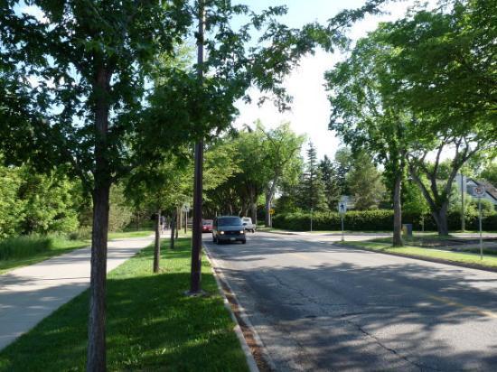Σασκατούν, Καναδάς: Spadina Crescent, Saskatoon, SK