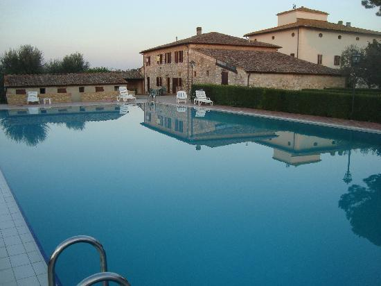 Colle di Val d'Elsa, Italia: Great pool