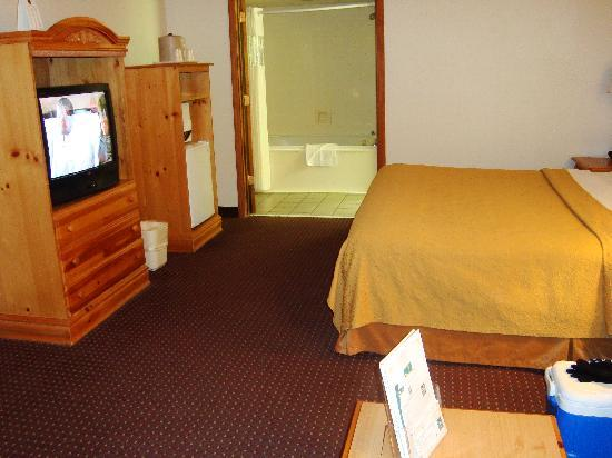 Quality Inn & Suites at Dollywood Lane: Plenty of room!