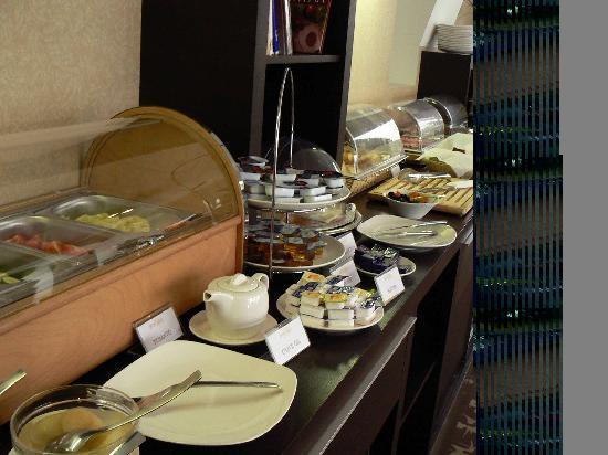 Buda Castle Fashion Hotel : colazione buda castle