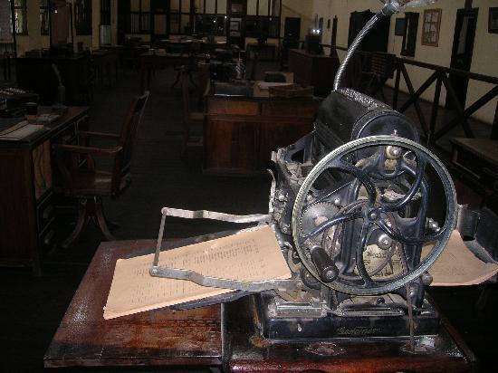 Museo de la Revolucion Industrial: office