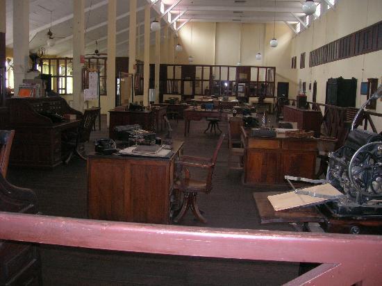 Museo de la Revolucion Industrial: area where cattle were