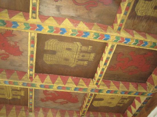 Palacio de Esquileo: techo de una sala