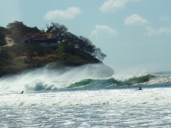 Buena Onda Beach Resort: Prevailing offshore winds