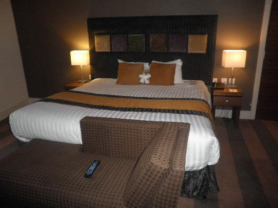 Ten Hill Place, BW Premier Collection: Amazing bed. Buy the Ten Hill Teddy Bear, very cute!!
