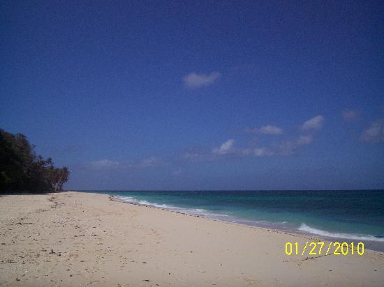 Yapak Beach (Puka Shell Beach): Yapak Beach