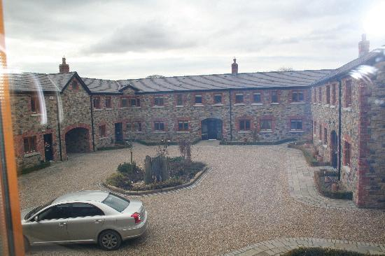 Navan, Ireland: the courtyard