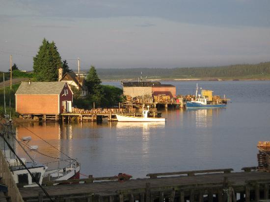 Louisbourg Harbour, Cape Breton Island
