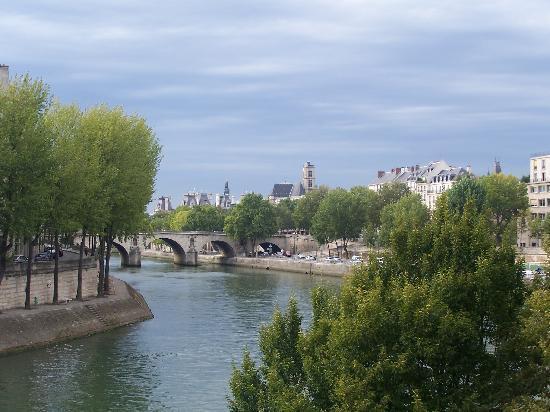 París, Francia: el sena, lumixmia