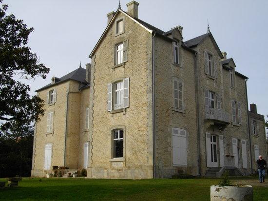 Chateau des Touches : Le Chateau dans son ecrin de verdure