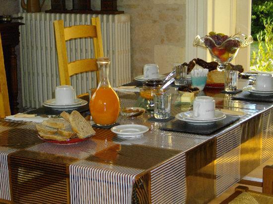 Chateau des Touches : Salle petits dejeuners