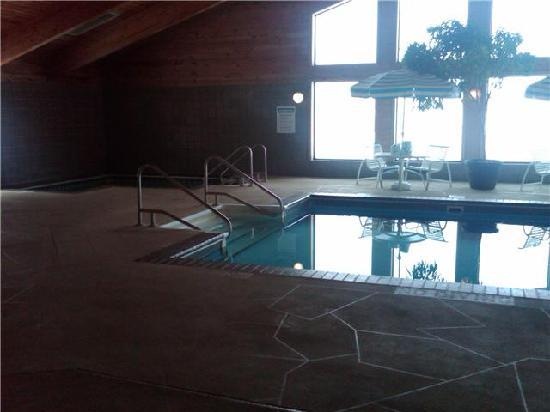 Rice Lake, WI: The fun pool area, Hot tub and Pool