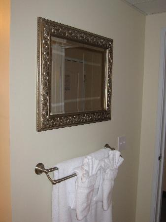 Hotel Rehoboth: Minor touches with major impact (framed mirror)