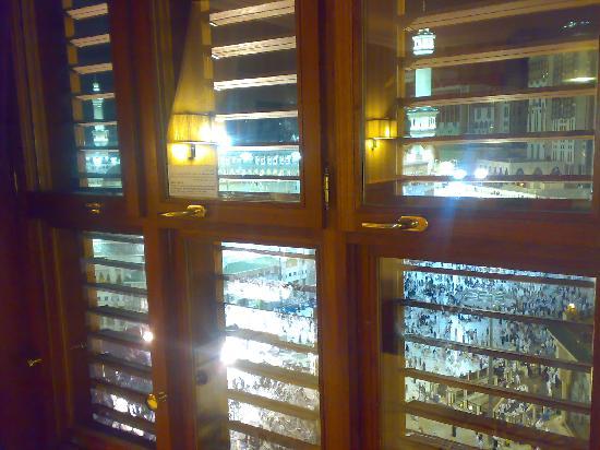 Makkah Millennium Hotel: haram view