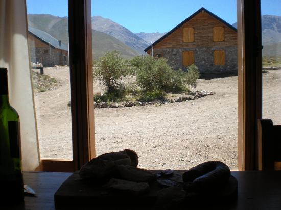 Complejo Turistico Los Molles: vista desde la cabaña