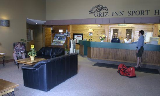 Griz Inn Sport: The Griz Inn - Lobby