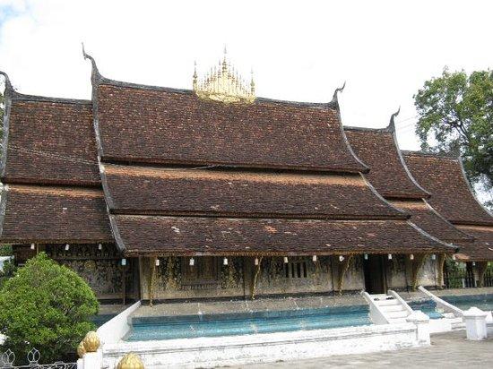 Tempel van de Gouden Stad (Wat Xieng Thong) Foto