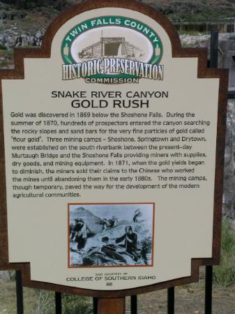Twin Falls, ID: Shoshone Falls / Dierkes Lake Park - Kimberly, ID