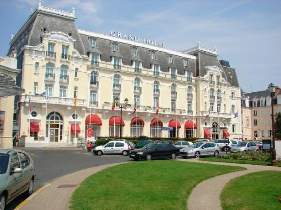 ‪‪Cabourg‬, فرنسا: The Grande Hotel, where Proust wrote.‬
