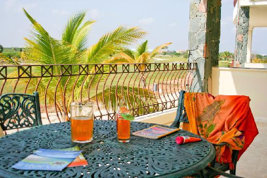 Bavaro Punta Cana Residences : Golf View Terrace