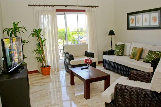 Bavaro Punta Cana Residences : Living Area