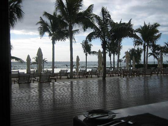 Grand Velas Riviera Maya: view from Bistro