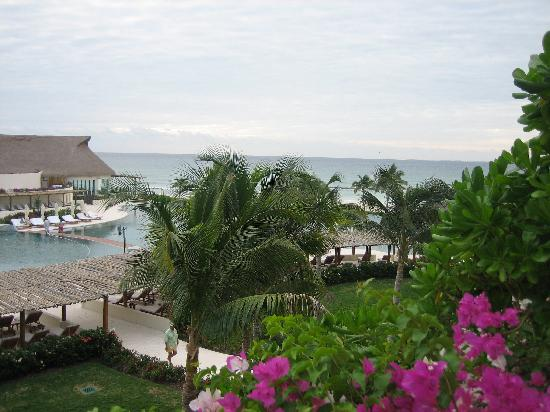 Grand Velas Riviera Maya: view from ambassador suite