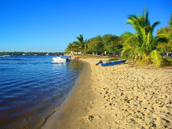 Wolngarin Holiday Resort Noosa: Less than 5 minutes walk away, great spot to swim and fish