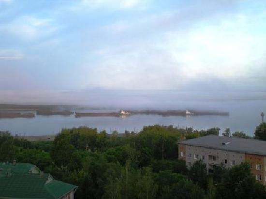 Khabarovsk, Russland: Early summer morning