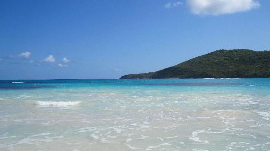 Flamenco Beach: looking out