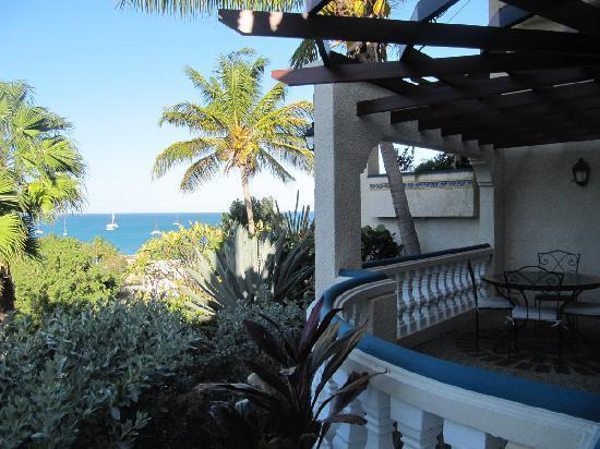 Hotel L'Esplanade: Balcony and ocean view