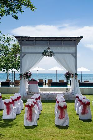 Bali Garden Beach Resort Wedding Venue