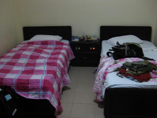 Tran Ly: twin room