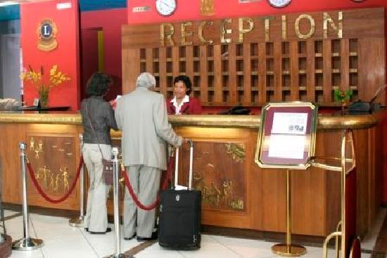 Le Grand Mellis Hotel & Spa : La réception