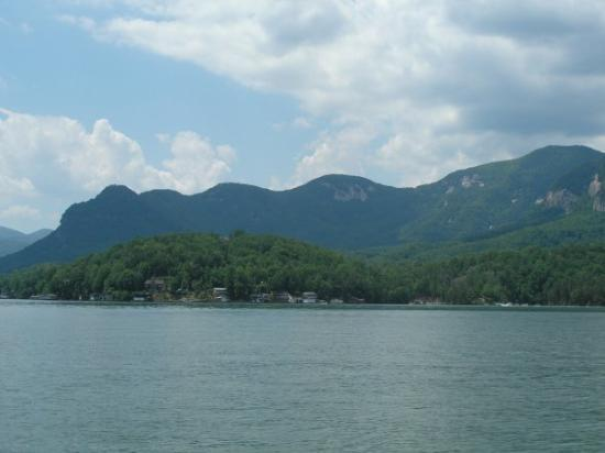 Beautiful Lake Lure, up close.
