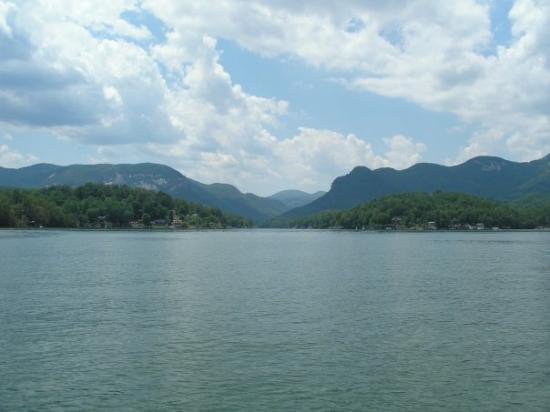 Lake Lure, Северная Каролина: Hickory Nut Gorge