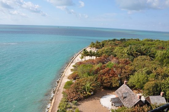 Key Biscayne, ฟลอริด้า: View from atop the lighthouse.