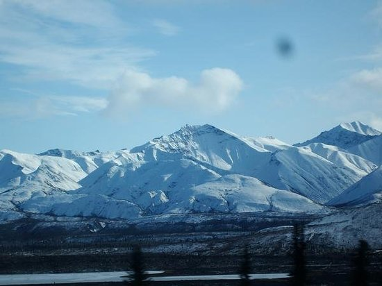 Fairbanks, Αλάσκα: alaska mountains