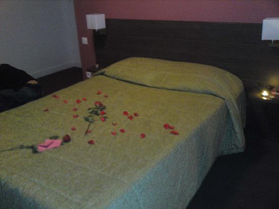 Adagio Access Toulouse Saint-Cyprien : le lit
