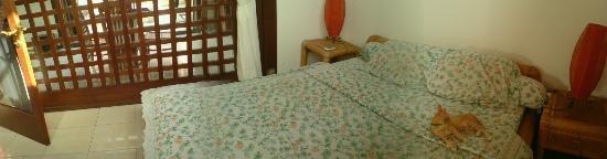 Villa Tiga: The bedroom downstairs