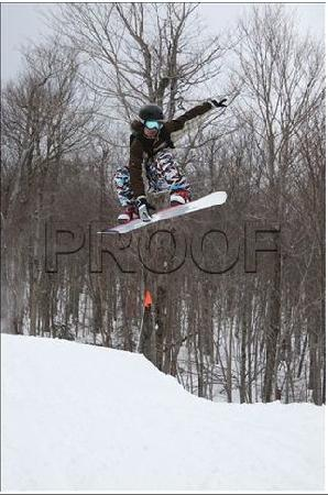 Mountain Lodge at Okemo: some big air