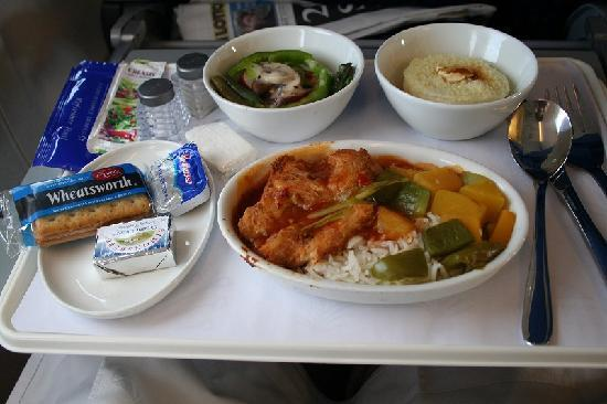 Cape Town Central, South Africa: タイ風カレー