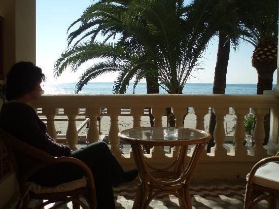 Voramar Hotel: Vista desde la habitación