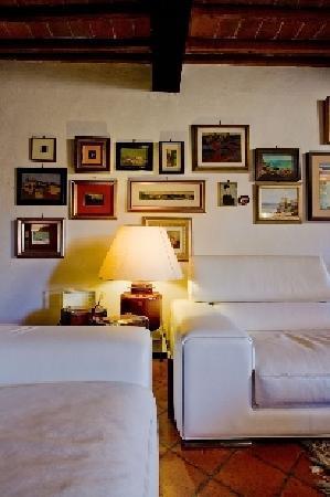 Monticchiello, Italia: sala comune