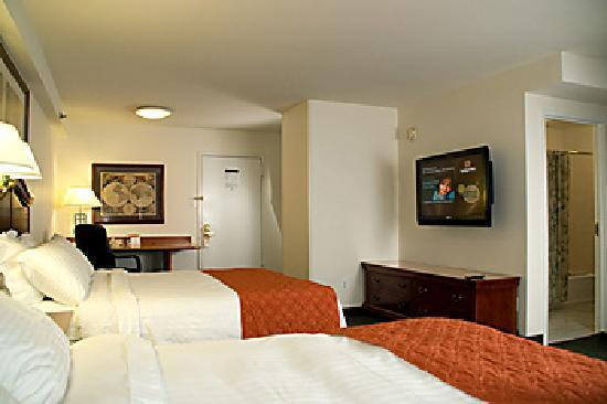 Washington Suites Alexandria : Double Queen Studio Suite