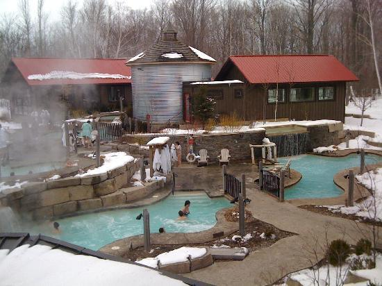 Blue Mountains, Canada: Le Scandinave Spa at Blue Mountain